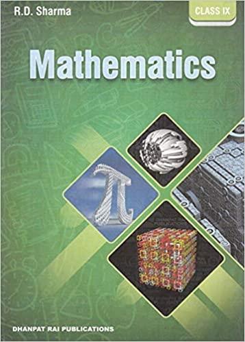 NCERT Solutions Class 9 Mathematics RD Sharma Textbook