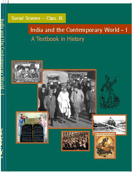 NCERT Solutions Class 9 Social Science History Textbook